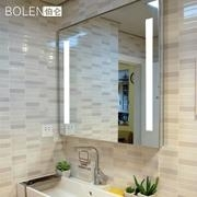 bath room with mirror