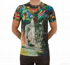 china fashion men sublimated t-shirts design wholesale