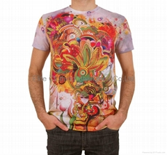 new design custom polyester t-shirts printing