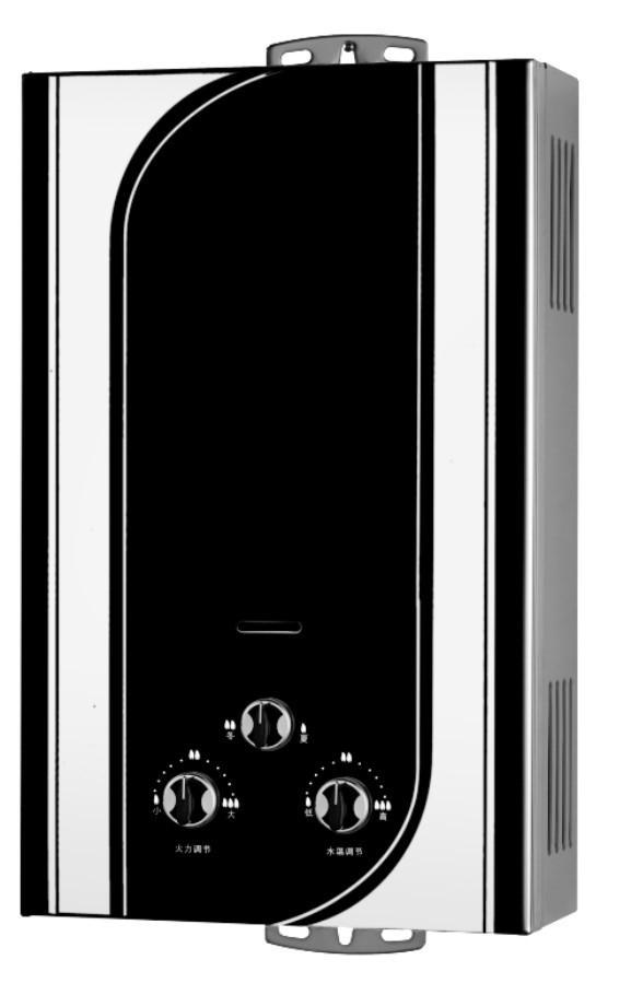 flue exhaust Water gas heater 1