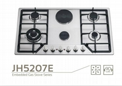 6 burner gas stove