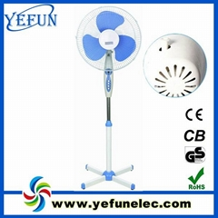 """16"""" electric stand fan with timer"""