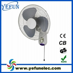 16 inch electric wall mounted fan
