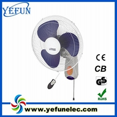 16inch remote controlled wall fan