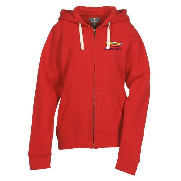 Customized Full Zip Hooded Sweatshirt 1