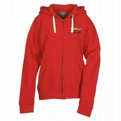 Customized Full Zip Hooded Sweatshirt
