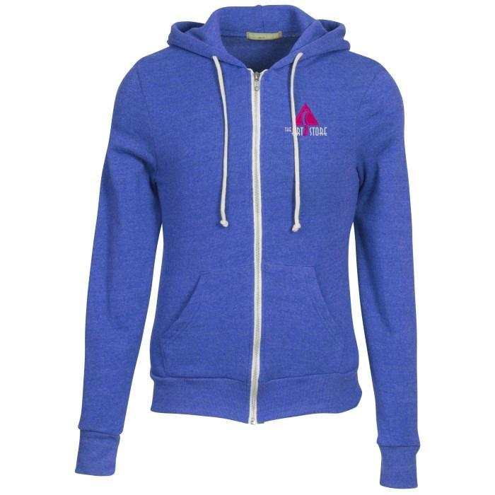 Customized Full Zip Hooded Sweatshirt 2