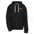 Customized Full Zip Hooded Sweatshirt 3