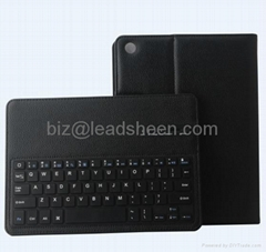 Wireless Bluetooth Keyboard Leather Case Cover For iPad Air