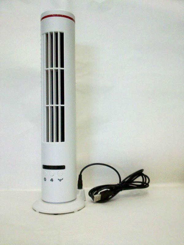 14'' Anion USB Mini Tower Fan 1