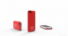 Newest design 2800mah battery case for iphone 5c