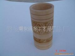 木制笔筒|木笔筒|笔筒|木制文具|木制花瓶