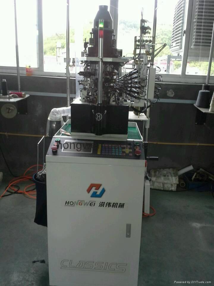 double cylinder socks knitting machines - HW-JD-801 ...