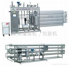 上海集美管式超高溫瞬時滅菌機組