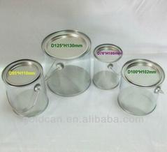 transparent pvc bucket