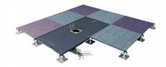 全鋼OA網絡扣槽高架活動地板