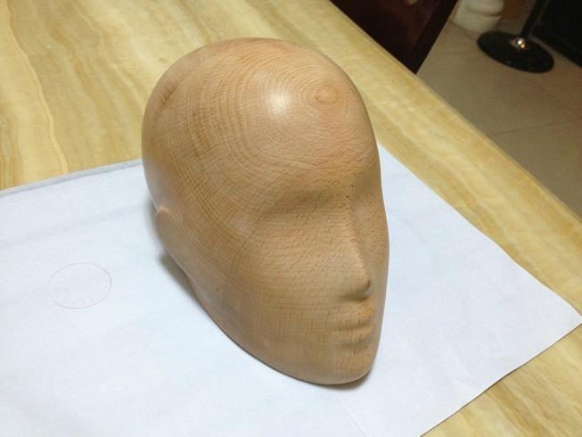 wooden head 1