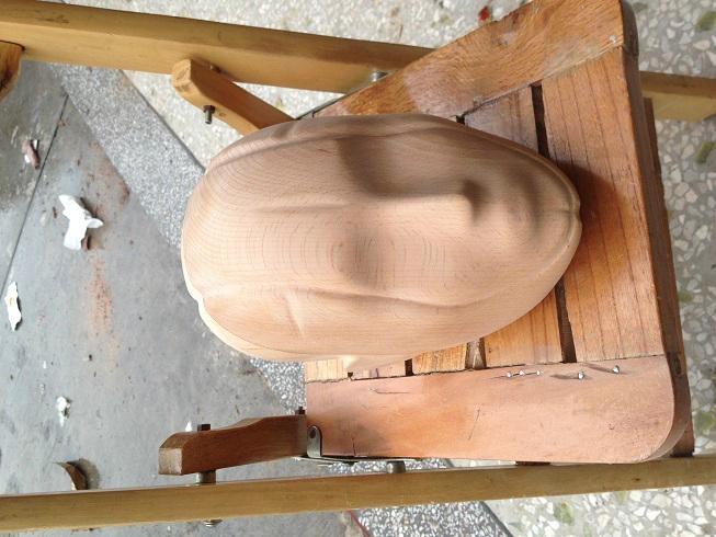 wooden head 4