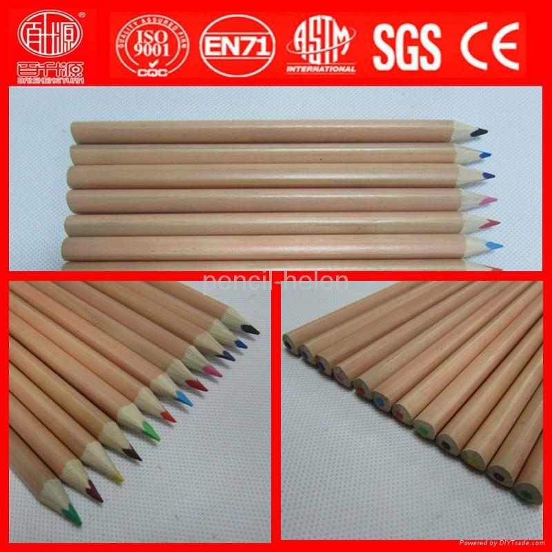 premium quality natural wood big color pencil 1