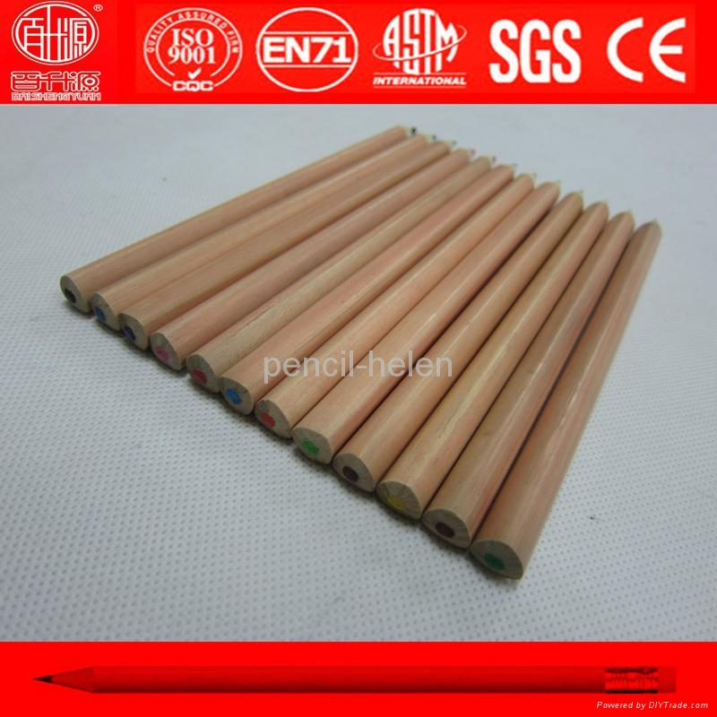 premium quality natural wood big color pencil 3