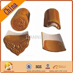Chinese traditional ceramic roof tile