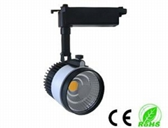 20W COB LED Track Light cob tracklight high power led light hot-product led ligh