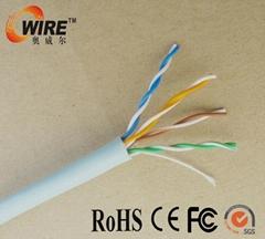 lan network cable CAT5E UTP copper four pairs fluke test passed
