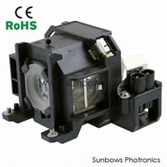 Original ELPLP38 Projector Lamp for Epson EMP-1705 EMP-1710 EMP-1715 EX100