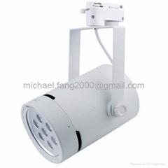 Hot selling aluminum housing led track light 7w