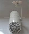 Hot selling aluminum housing led track light 15w 1