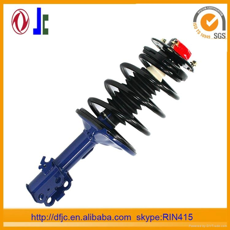 DAMPER SHOCK ABSORBER AND REAR SHOCK ABSORBER ARE ABSORBER SHOCK 1
