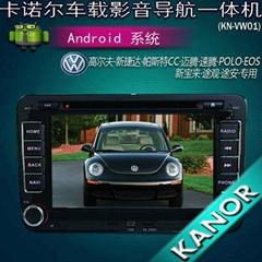 大众迈腾 捷达 高尔夫 polo专用安卓车载dvd导航