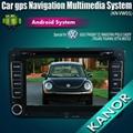 VW golf polo magotan Capacitive Screen android car dvd gps navigation 2