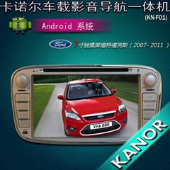 """7"""" Capacitive Screen android car dvd gps radio player for ford focus mondeo"""