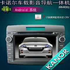 本田新思域 CRV专用电容屏安卓车载dvd导航