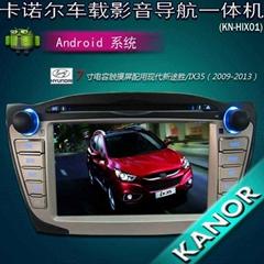 现代途胜 IX35 伊兰特专用纯安卓车载dvd导航