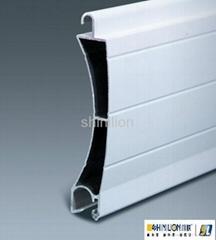 Aluminum profile for garage door