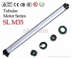 Roller shutter tubular motor