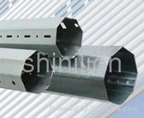 Roller shutter axle