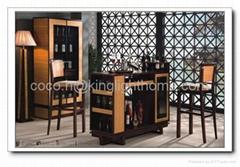 Luxury Design Wine Cellar Cabinet Rack-bamboo material