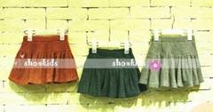 BENNY Chinlon pleated skirt