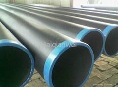 EN standard carbon steel LSAW welded pipe