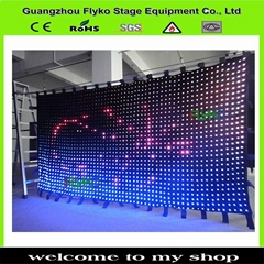 indoor club stage video wall