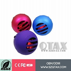 for Mobile Phone China supplier with 3.5 jack Portable Mini Speaker