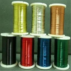 colored copper beading wire