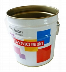 China Chemical Packaging Paint Tin Can Wholesale