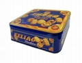 Metal Tin Box For Cake Packaging Any