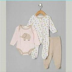 Mini Wear Baby Wash Clothes Wholesale Knit Newborn Baby Clothing Set