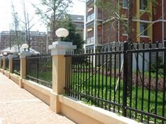 steel wall fence