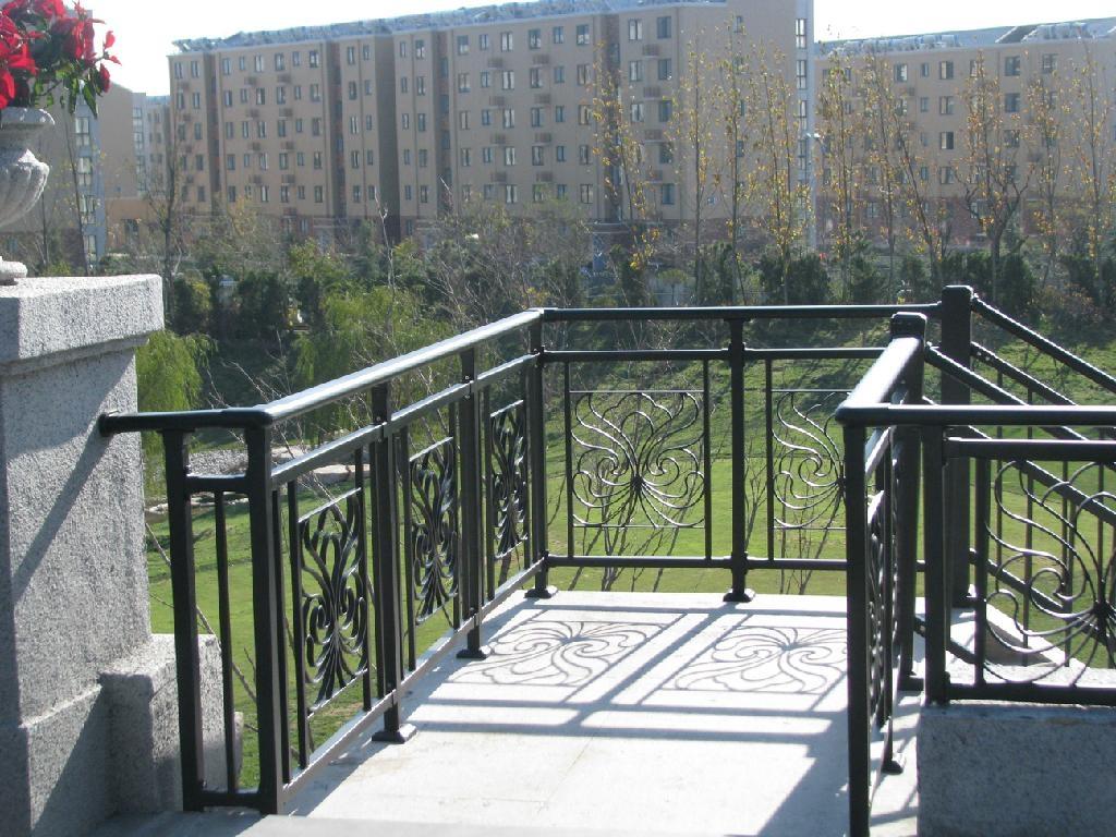 Iron balcony railing axcel china manufacturer metal